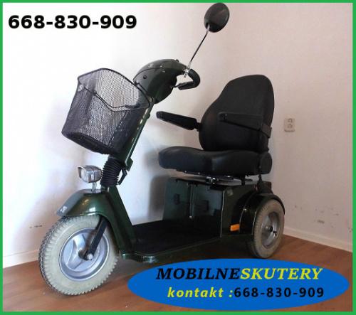 skuter elektryczny inwalidzki trójkołowy dla seniora