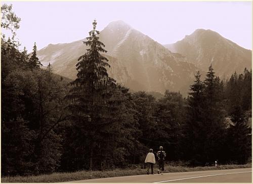 ... w Tatrach...