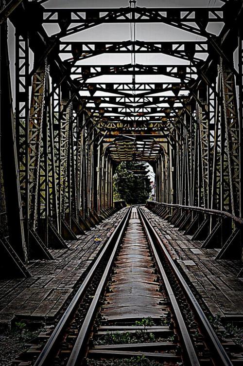 ,,most kolejowy w Wadowicach,,