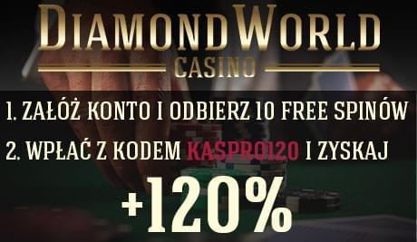 Diamond World Casino Ekskluzywny bonus 110% do 500€+10fs bez wymaganego depozytu A597d1b9dd95f4dcmed