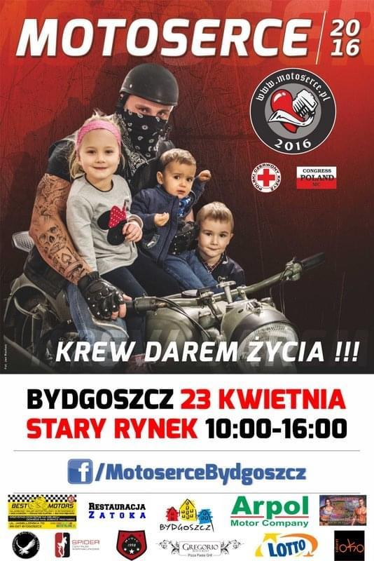 Motoserce Bydgoszcz 2016