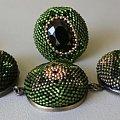 bransoletka i pierśconek z kaboszonów2,5 cm