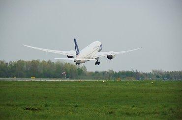 Lotnisko Chopina - samoloty