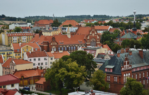 Kętrzyn - panorama